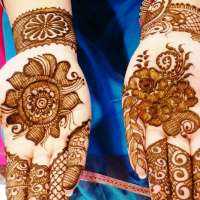 Mehendi…painting on a girls hands but adding colors to her dreams