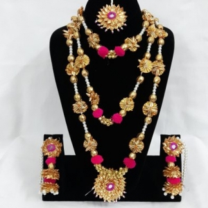 GOTA PATTI SETS - RANI HAAR AND JHUMKIS
