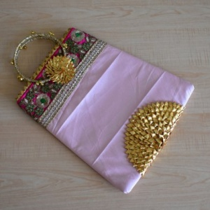 GOTA PATTI PURSE