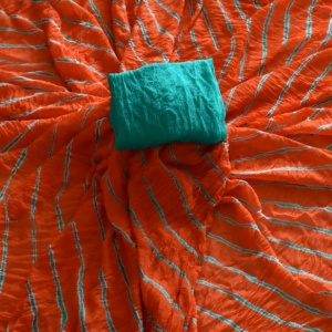 WAVES OF LEHERIYA SAREES