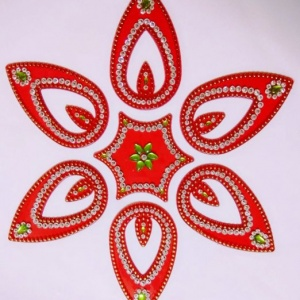 HANDMADE BEAUTIFUL RANGOLI