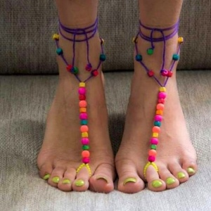 BEADED FOOT ACCESSORIES