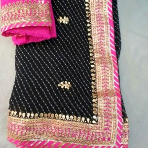 HEAVY GOTA PATTI SAREE