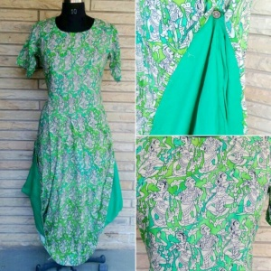 Tribal print green