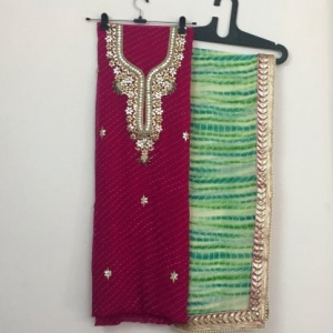 DUPATTA AND KURTA SET